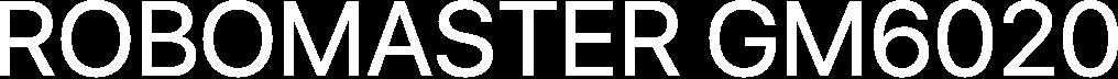 RoboMaster GM6020